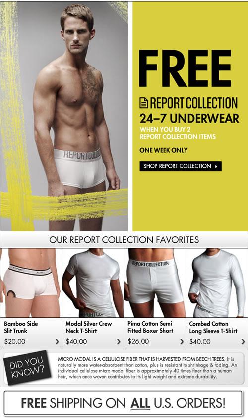 Fresh Pair - Report Collection Underwear