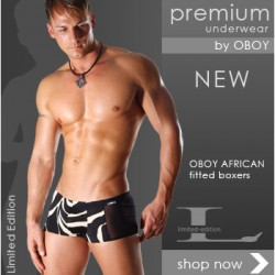 Oboy – African Fitted Boxer