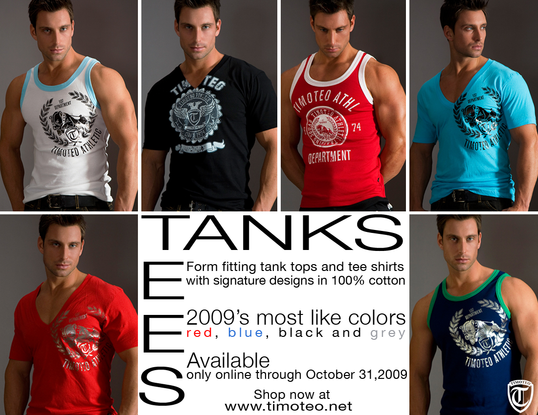 Timoteo Tanks and Tees