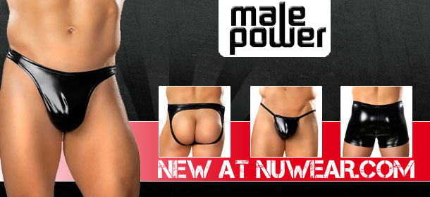 New Rubber Male Power at NuWear
