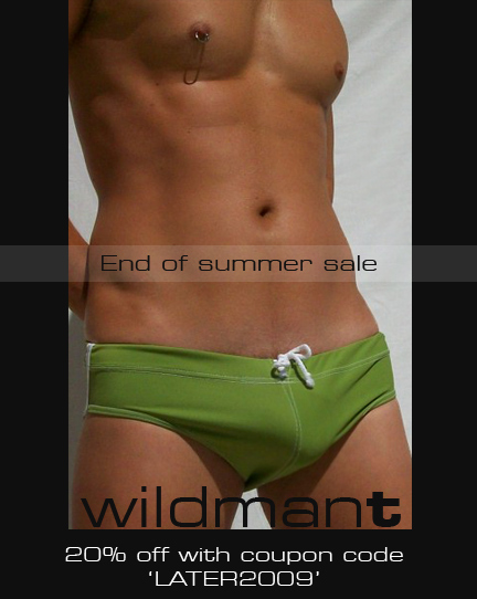 End of Summer Sale at WildmanT