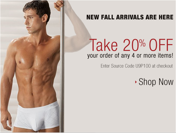 Save 20% off at UnderGear