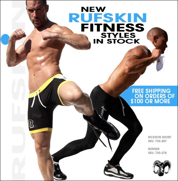 Rufskin Fitness in Stock at 10 Percent.com