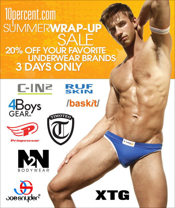 10 Percent Summer Wrap-Up Sale