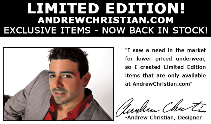 Andrew Christian Limited Edition Almost Naked Extreme Brief - $14