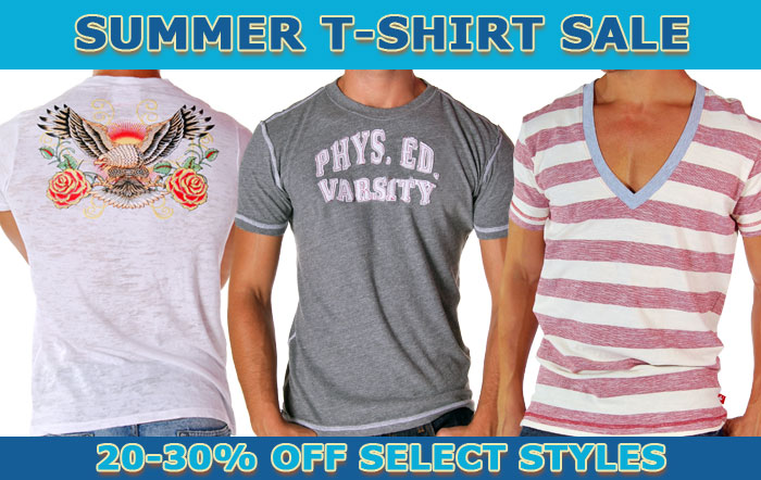 Summer T-Shirt Sale at Andrew Chrisitan