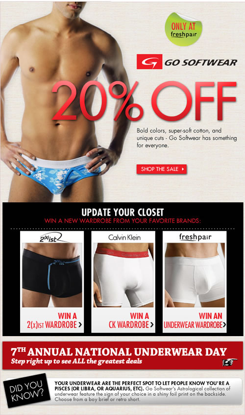 Go Softwear on sale at Fresh Pair