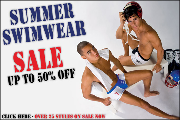 Summer Swimwear Sale at Andrew Christian