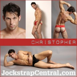 Jockstrap Central Model Christopher
