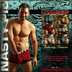 New Nasty Pig Mash-up Underwear at Jockstrap Central