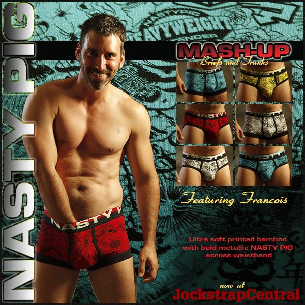 New Nasty Pig Mash-up Underwear at Jockstrap Central
