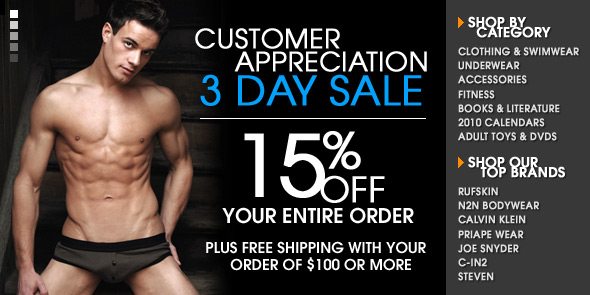 10 Percent.com is having a Customer Appreciation Sale