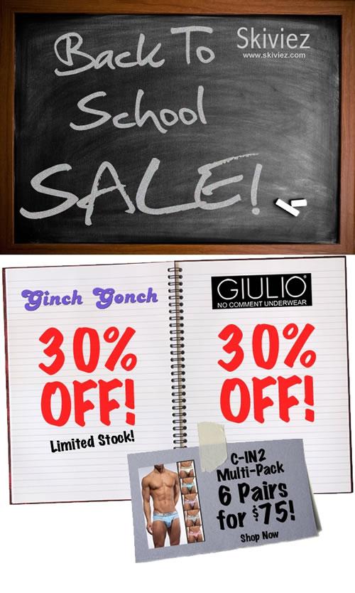 Skiviez is having a Back to school sale!