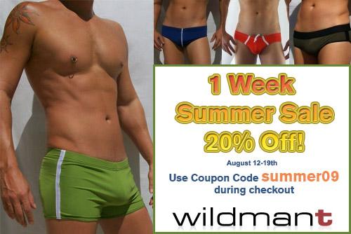 WildmanT Summer Sale