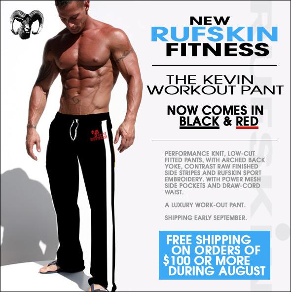 New Rufskin workout wear at 10 Percent.com