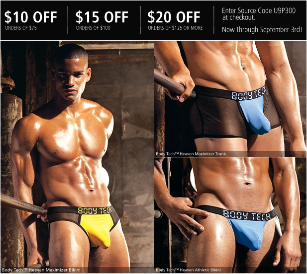 Maximize Your Look With New Styles From Body Tech from UnderGear