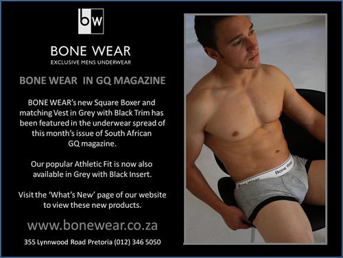 Bone Wear's New Square Boxer
