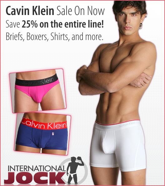 Calvin Klein Underwear On Sale Now at International Jock