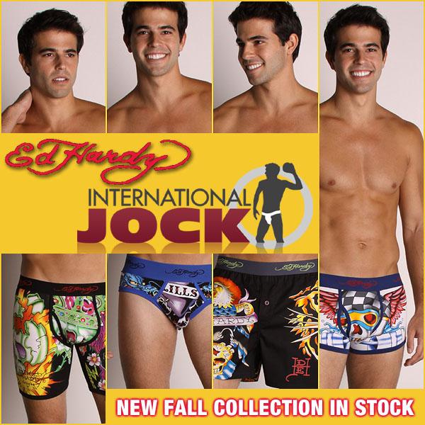 New Ed Hardy Underwear Collection at International Jock