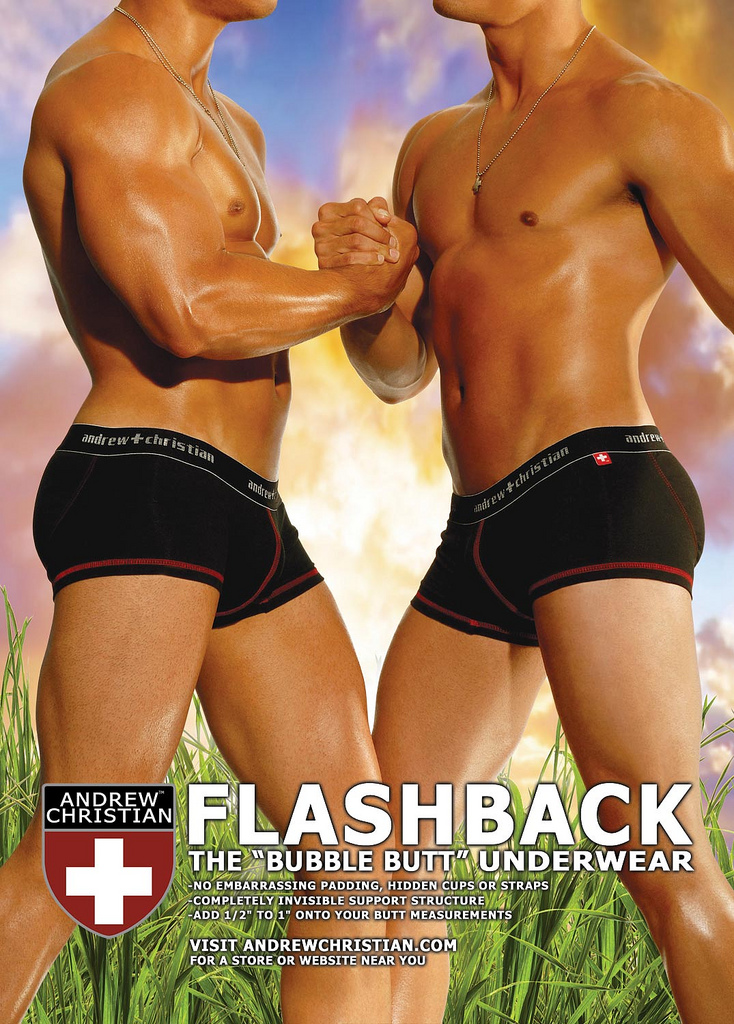 Andrew Christian Flashback Boxer Contest