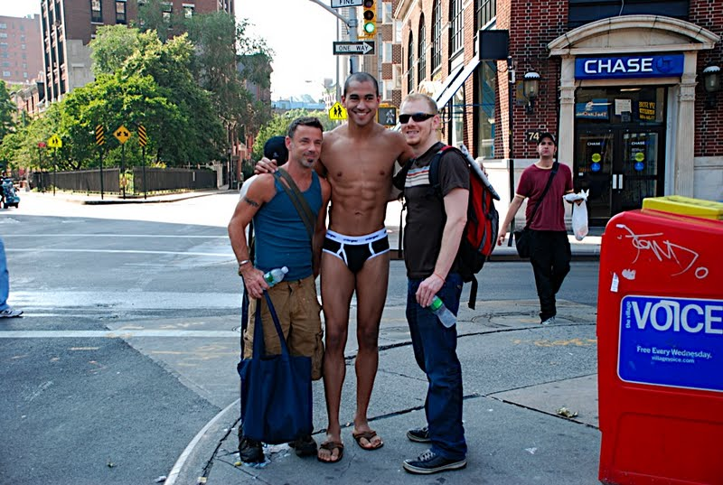 Undergear Photoshoot Takes Over Times Square