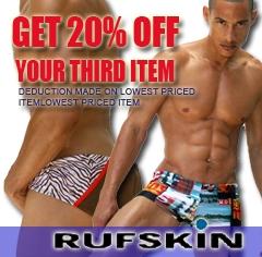Save on Rufskin at Cityboyz Fashions