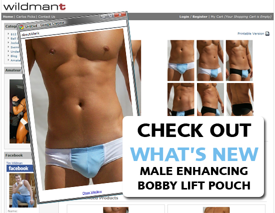 Wildmant: What's New - Lifting Pouch
