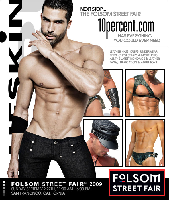 10 Percent.com Is Getting you Ready for Folsom Street