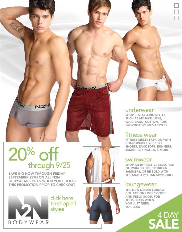 N2N Bodywear Sale: Take 20% Off Everything