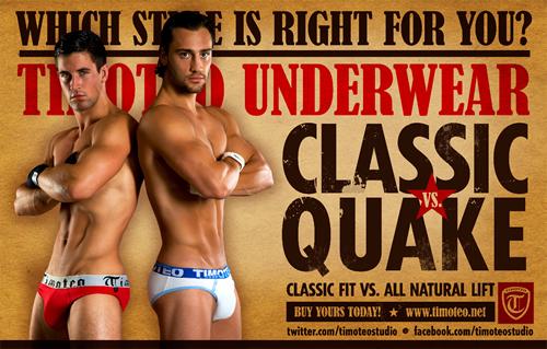 Which Timoteo Underwear do you Wear?