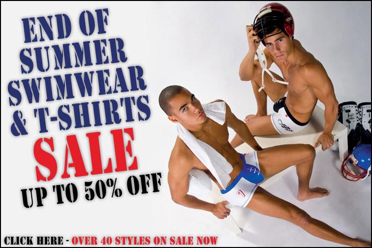 Andrew Christian End of Summer Swimwear & T-Shirt Sale