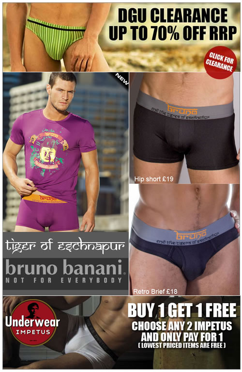 Up to 70% off clearance plus buy 1 get 1 free offer at Dead Good Undies