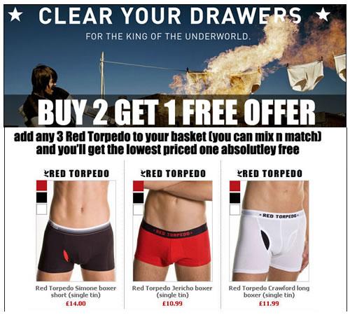 Buy 2 get 1 free offer on DGU
