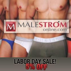 Malestrom Labor Day Sale