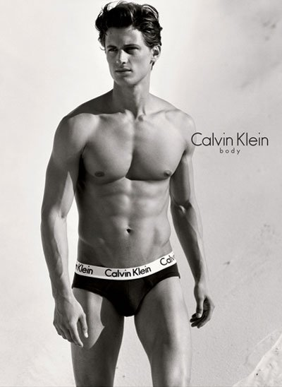 Calvin Klien Model contest and Current Model Garret Neff