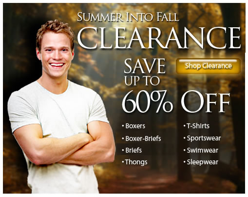 Clearance Sale at His Room