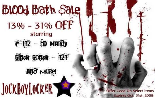 JockBoyLocker.com Halloween Savings
