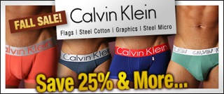 Final Week for the Calvin Klien at Malestrom