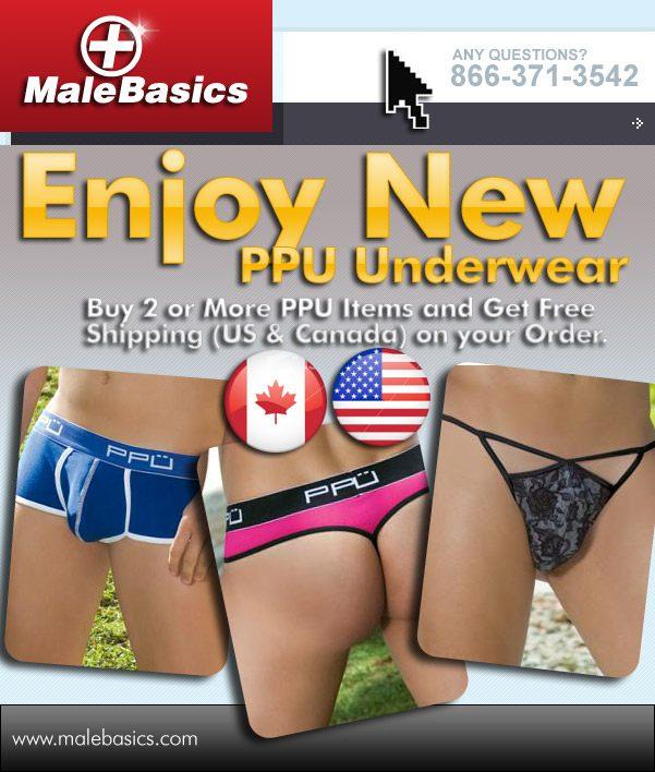 New PPU + Free Shipping at MaleBasics