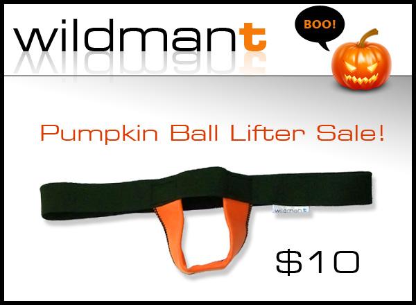 Wildmant: Pumpkin Ball Lifter® Sale!