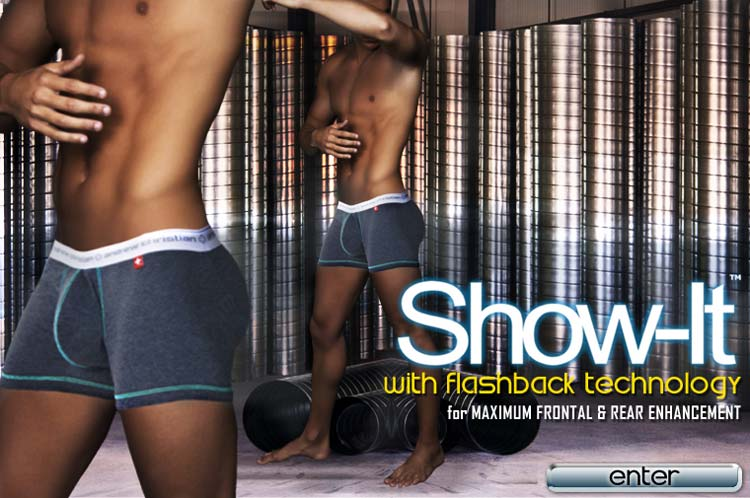 Andrew Christian New Show-It with Flashback Boxer Now Shipping