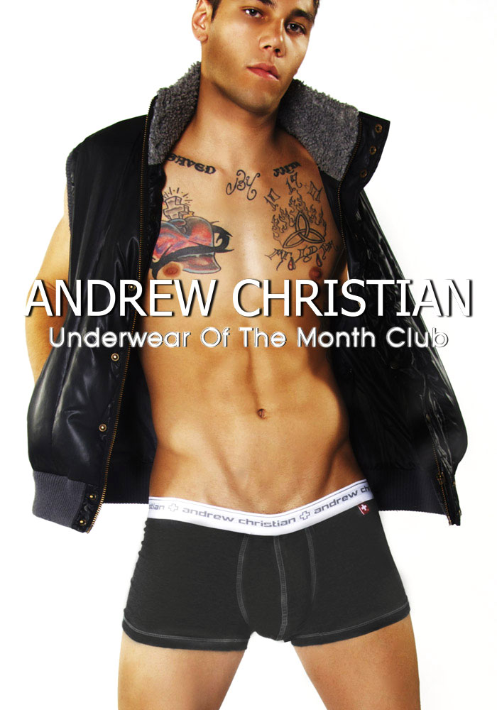 Andrew Christian's New Underwear Of The Month Club