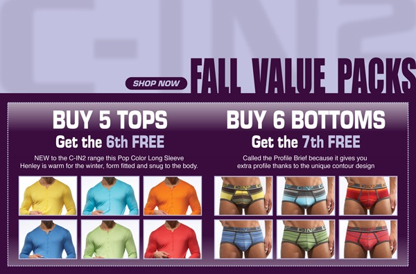 C-IN2 Fall Value Packs Now Available