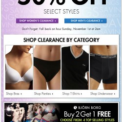 Up to 50% Off – Daylight Savings Clearance (New Items Just Added!) at Fresh Pair