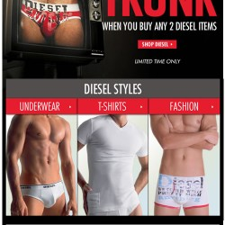 Diesel Trunk Free with Diesel Purchase – Limited Time Only at Freshpair