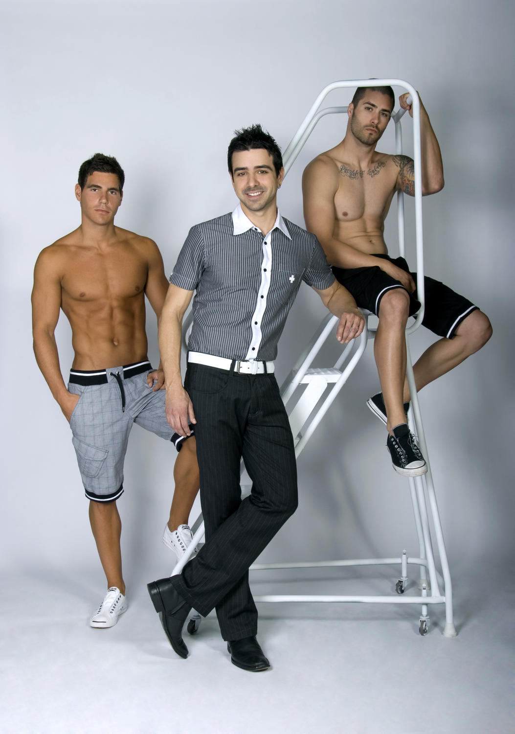 Andrew Christian Model Search, Taking It To The Streets