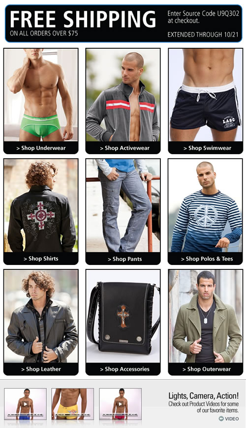 Free Shipping Offer Extended By Popular Demand at UnderGear