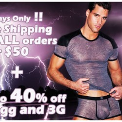 2 Days Only, Free Shipping and up to 40% off Gregg and 3G at Wyzman