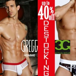 Gregg Homme and 3G Destocking Event, up to 40% off at Wyzman