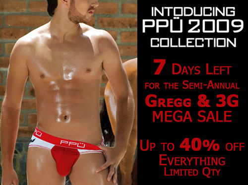 PPU New Collection and 7 Days Left for the Gregg and 3G Sale event at Wyzman